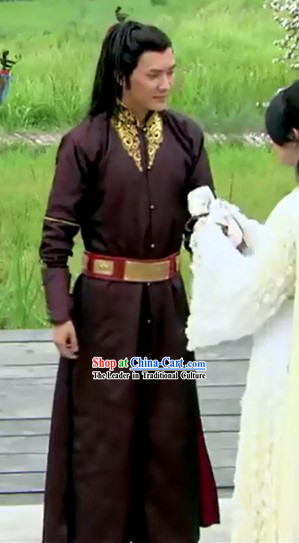 Ancient Chinese Lan Ling Wang King Costumes for Men