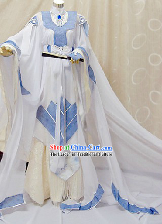 Ancient Chinese Prince Cosplay Outfits Complete Set