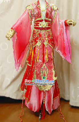 Ancient Chinese Imperial Emperor Cosplay Suits Complete Set