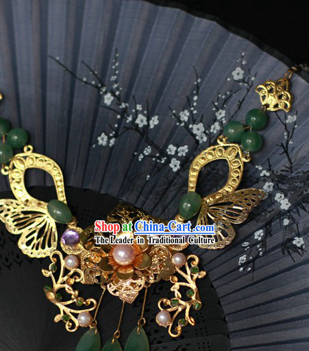 Ancient Chinese Handmade Butterfly Jewelry and Hair Accessories