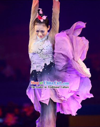 Ai Lian Shuo Lotus Dance Costume Complete Set