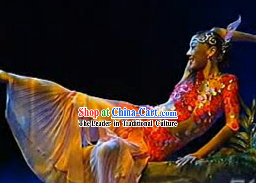 Fish Dance Costumes and Headwear for Women