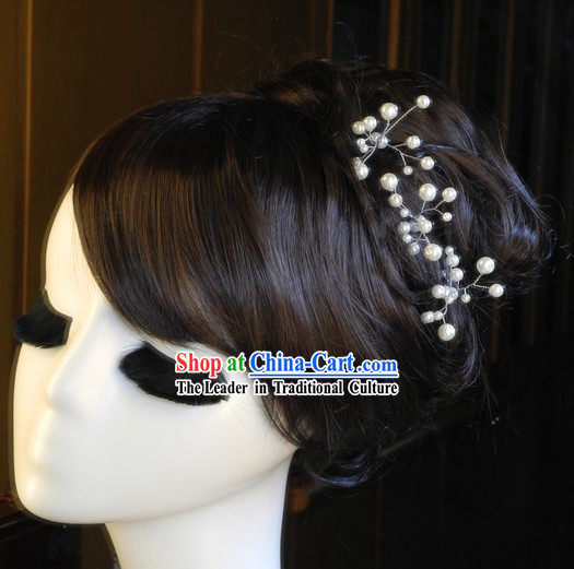 Traditional Chinese Handmade Wedding Customs Brides Hairpin