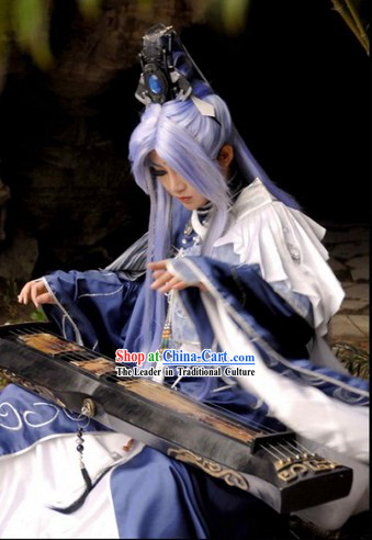 Ancient Style Chinese Cosplay  Clothing, Shoes _ Accessories for Men