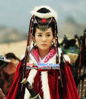 Phoenix and Peony Television Drama Ethnic Prince Costumes Complete Set
