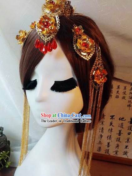 Handmade Traditional Chinese Hair Jewelry For Wedding__8206;