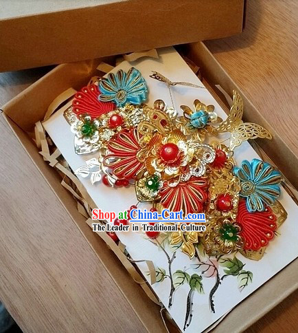 Traditional Chinese Romantic Bridal Hair Accessories