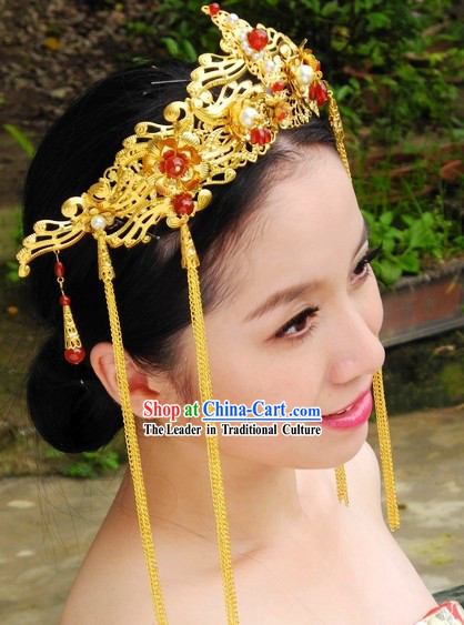Handmade Traditional Chinese Hairpieces _ Hair Clips