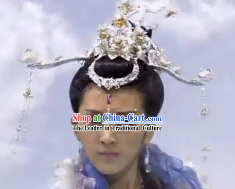 Traditional Ancient Chinese Chang Er Headdress Set
