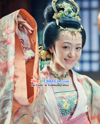 Traditional Ancient Chinese Imperial Palace Princess Hair Accessories
