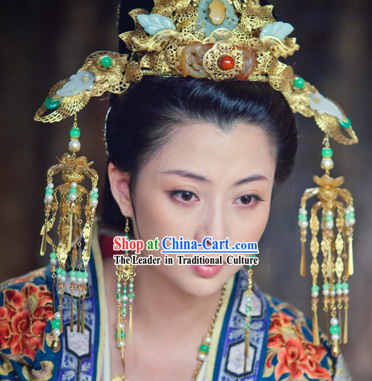 Traditional Ancient Chinese Imperial Palace Empress Hair Accessories Set