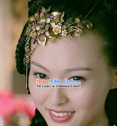 Traditional Ancient Chinese Swordswoman Hair Accessories Complete Set