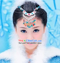 Traditional Chinese Forehead Headdress Set