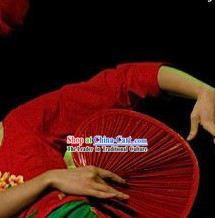 Traditional Handmade Asian Dance Fan Prop