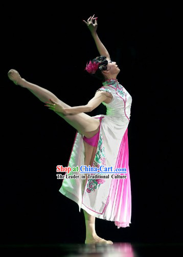 Stage Performance Classic Dance Qi Pao Costumes for Women