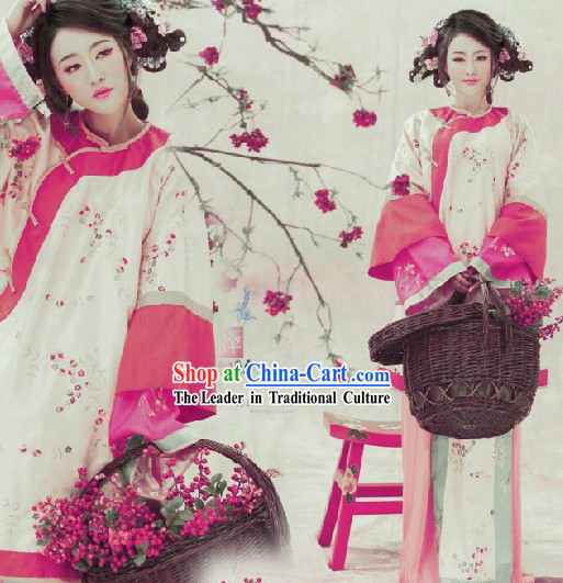 China Minguo Time Lady Clothing and Headwear Complete Set