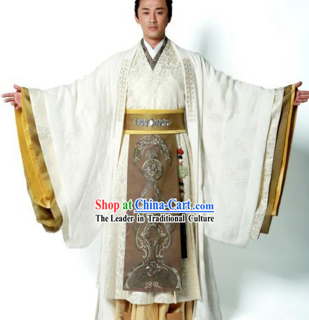 Ancient Prime Minister Hanfu Clothing for Men