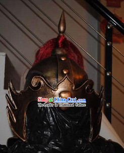 Ancient Chinese Hero Yue Fei Style Helmet