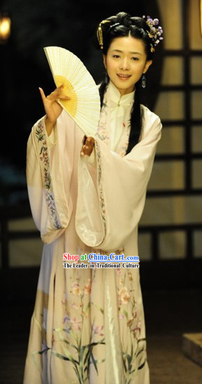 Liu Ru Shi / Threads of Time Ming Dynasty Female Clothing and Hair Accessories