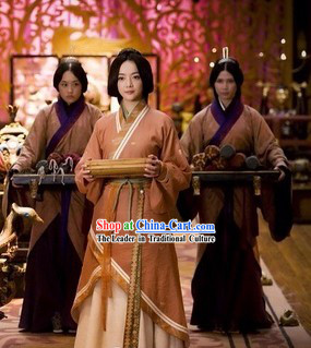 Ancient Chinese Palace Imperial Lady Costumes for Women