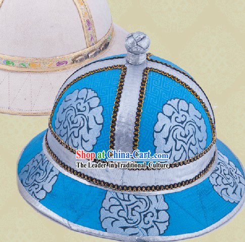 Handmade Traditional Chinese Mongolian Prince Hat for Boys