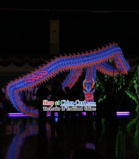 Competition Celebration and Parade Glow in Dark Dragon Dance Costumes Complete Set