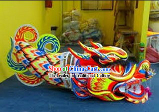 Professional Luminous Dragon Dance Equipment Complete Set for 7-8 Adults