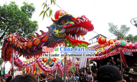 Friendly Dragon Dance Costume for Men