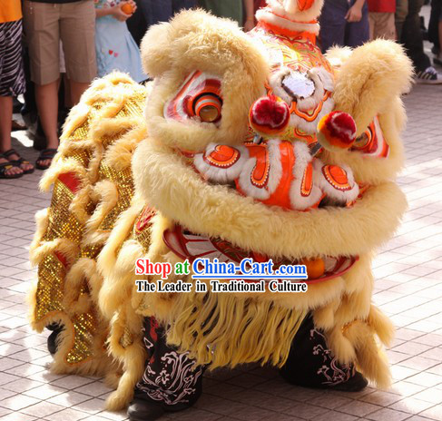 Supreme Chinese Southern Hoksan Lion Dance Costume for Sale