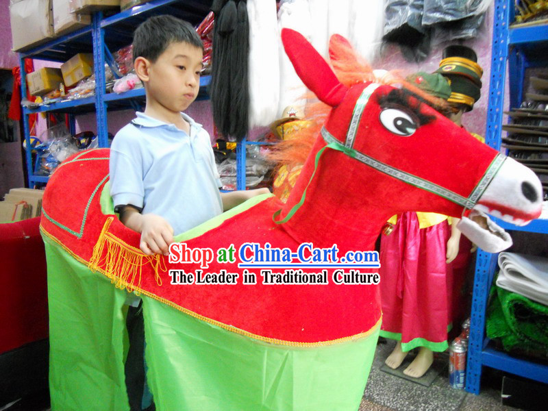 Chinese Lunar New Year Horse Year Horse Costume for Children