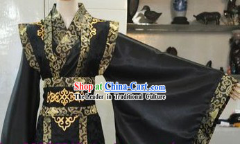 Ancient Chinese Black Cosplay for Men