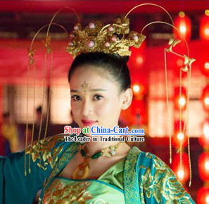 Ancient Chinese Princess Phoenix Cap