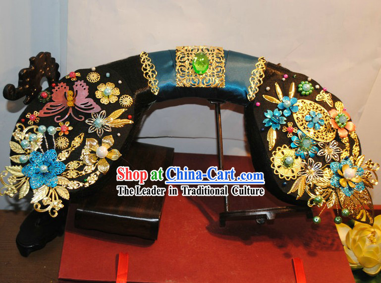 Qing Dynasty Chinese Palace Empress Hair Accessories Set