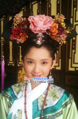 Qing Chao Chinese Palace Concubine Hair Accessories for Women
