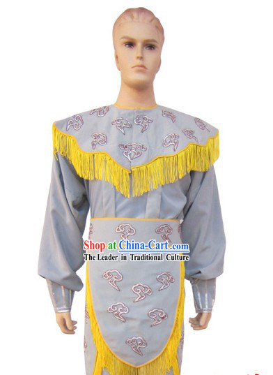 Chinese Peking Opera Embroidered Crane Costumes