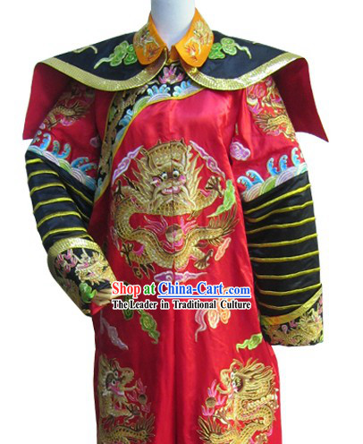 Chinese Qing Dynasty Imperial Prince Wedding Dress for Men