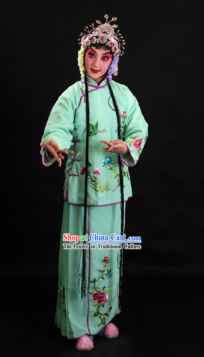 Chinese Beijing Opera Costume and Skirt for Women