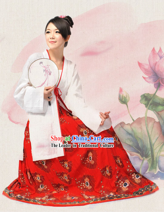Ancient Chinese Guzhuang Clothing for Women