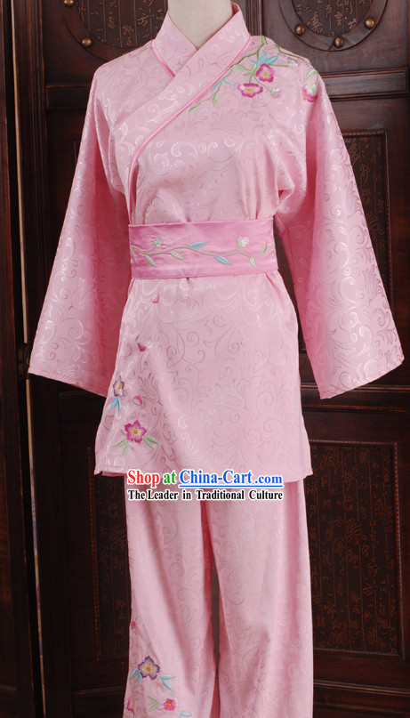 Traditional Chinese Martial Arts Competition Clothing for Women
