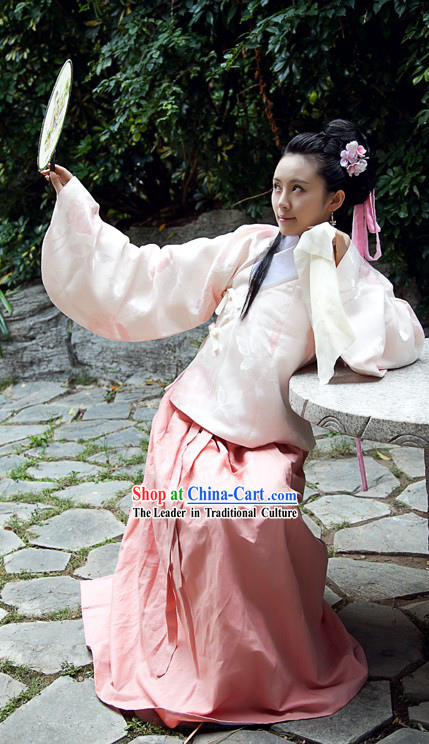 Traditional Chinese Ming Dynasty Spring Clothing for Women