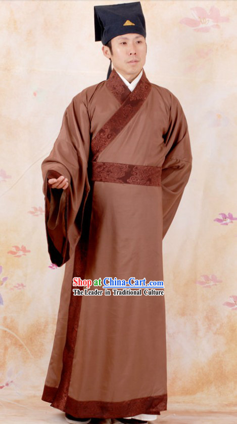 Ancient Chinese Han Dynasty Robe for Men