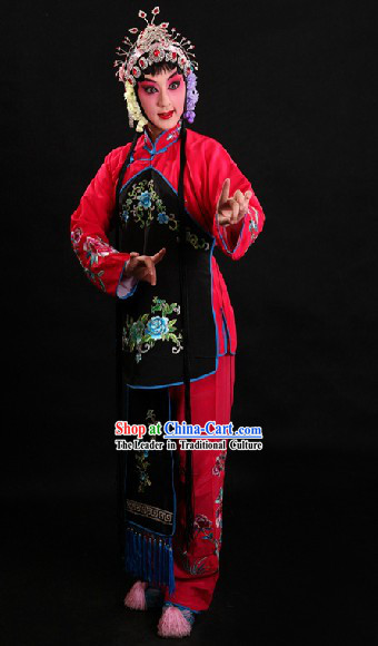 Traditional Chinese Opera Girl Costumes