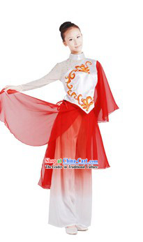 Chinese Yangge Folk Dancing Costume for Women