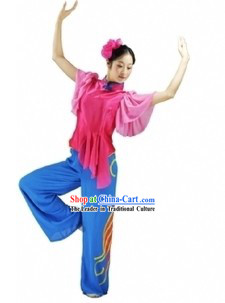Traditional Chinese Yangge Dance Costumes for Women