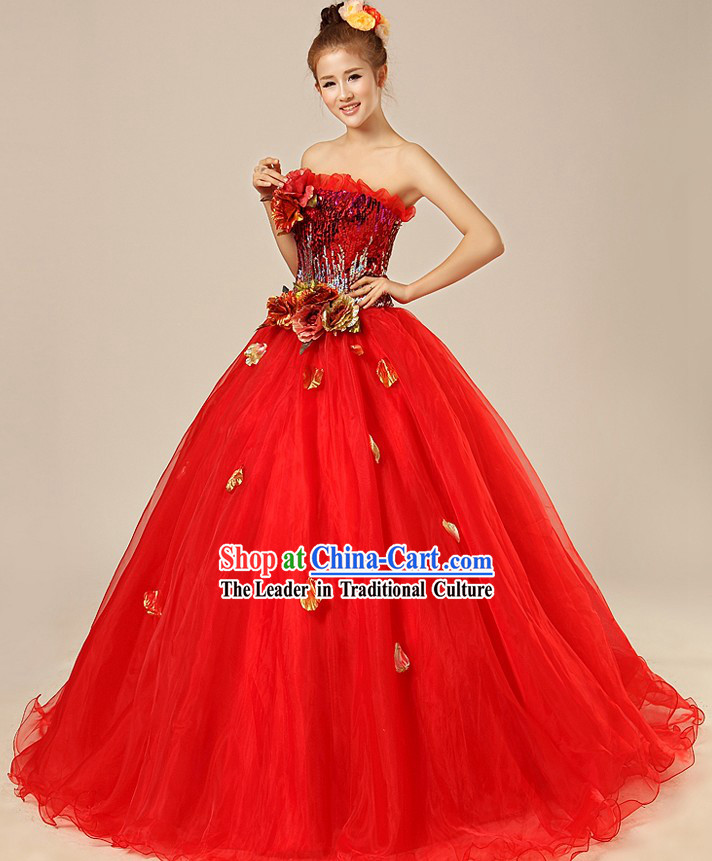Chinese Modern Wedding Dress for Women