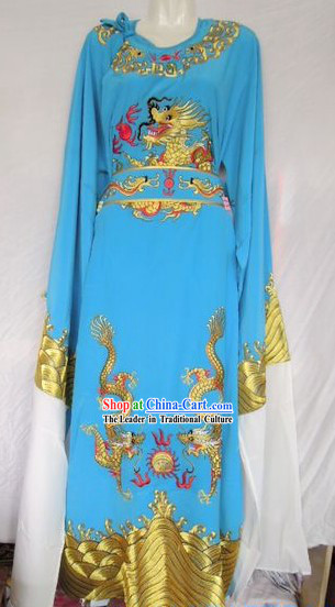 Ancient Chinese Opera Embroidered Dragon Costumes