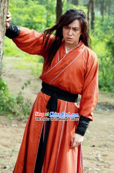 Ancient Chinese Traditional Dress Male Ancient Chinese Swordsman Costume