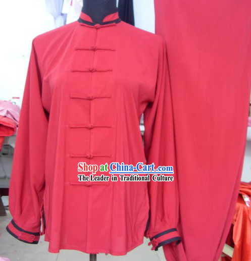 Traditional Chinese Silk Kung Fu Tai Chi Suit