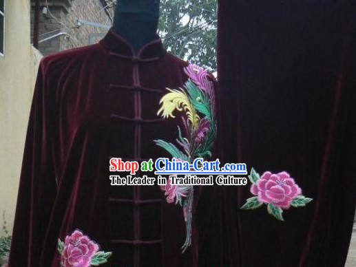 Traditional Chinese Velvet Tai Chi Competition Uniform