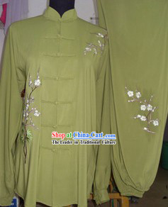 Traditional Chinese Silk Tai Chi Clothes